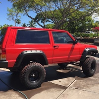 Rental Jeep Red